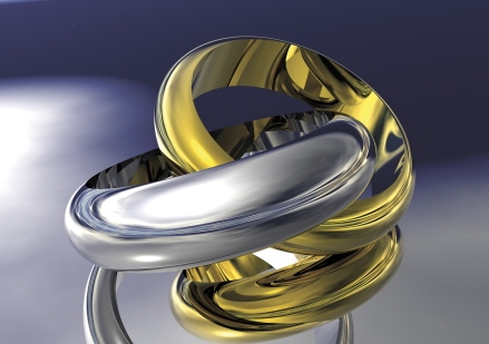 © Susanfindlay | Dreamstime.com - Gold And Silver Wedding Bands Photo